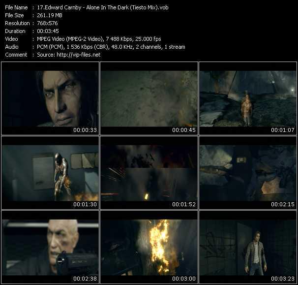 Music Video Of Edward Carnby Alone In The Dark Tiesto Mix Download Hq Videoclip Vob