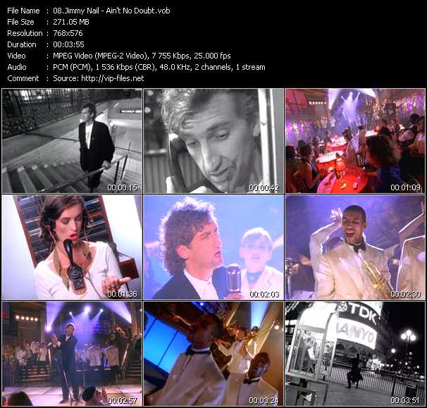 Music Video Of Jimmy Nail Crocodile Shoes Download Hq Videoclip Vob