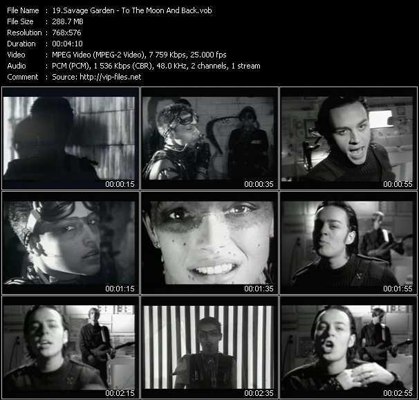 Savage Garden Music Videos And Video Clips Feat Savage Garden Total 40 Download Hq Vob