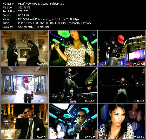 Music Video feat  Static - Crank It Up - Download HQ