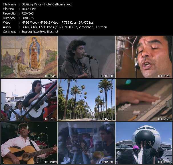 hotel california music video download