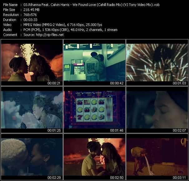Music Video of Rihanna - Pon De Replay - Download HQ
