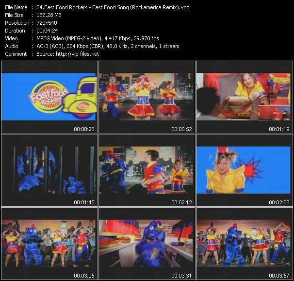 Fast Food Rockers Fast Food Song Download