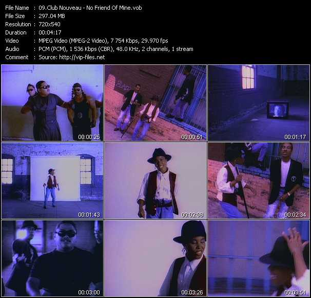 club nouveau music videos and video clips feat club nouveau total 14 download hq vob videos. Black Bedroom Furniture Sets. Home Design Ideas
