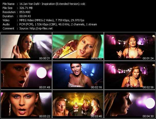 Music Video Of Ian Van Dahl Where Are You Now Download Hq Videoclip Vob