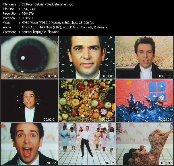 Peter Gabriel - Sledgehammer HD (1 8 p) - YouTube