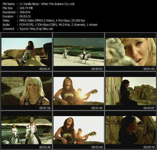 Music Video of Vanilla Ninja - Liar - Download HQ Videoclip
