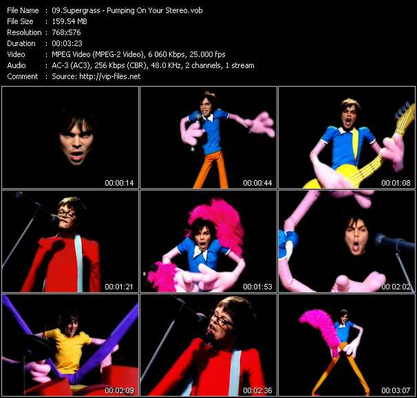 Music Video of Supergrass - Alright - Download HQ Videoclip