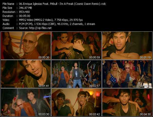 Music Video of Enrique Iglesias - Para Que La Vida - Download HQ