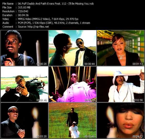 P. Diddy Music Videos And Video Clips Feat. P. Diddy(total