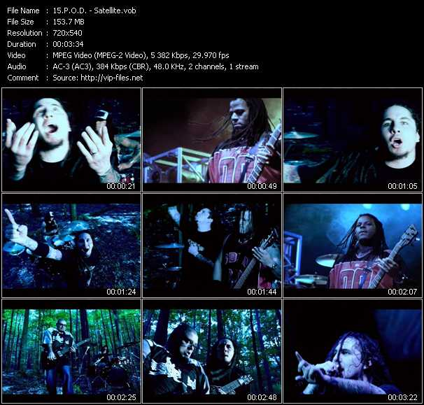 P O D  Music Videos and Video Clips feat  P O D (total: 23