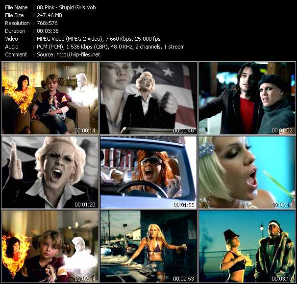 stupid-girl-music-video-pink