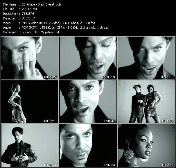 Music Video feat  Prince - Round And Round - Download HQ