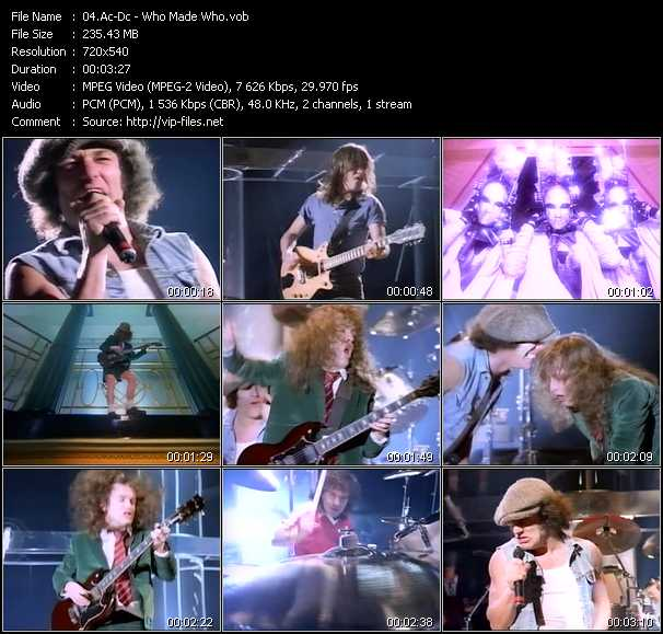 AC/DC.Who Made Who.1986.Album (download torrent) - TPB