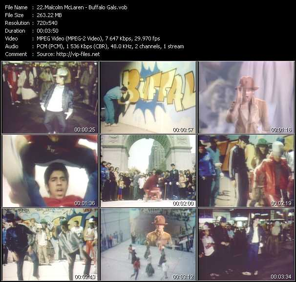 Malcolm McLaren Music Videos and Video Clips feat. Malcolm McLaren