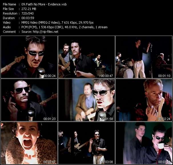 Music Video of Faith No More - Anne's Song - Download HQ