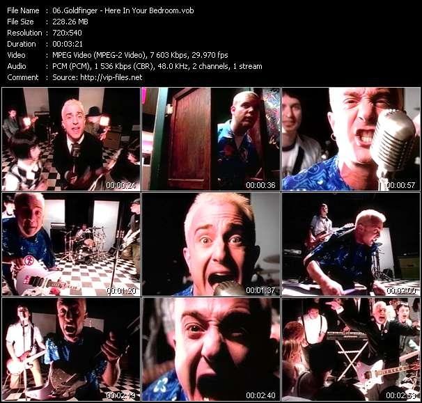 Music Video Of Goldfinger Here In Your Bedroom Download