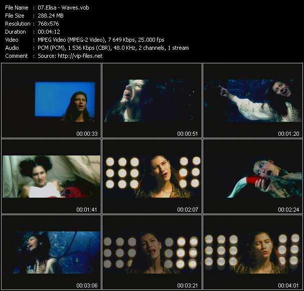 Video Song - Waves - download in High Quality