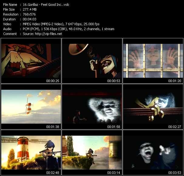 Music Video of Gorillaz - El Manana - Download HQ Videoclip