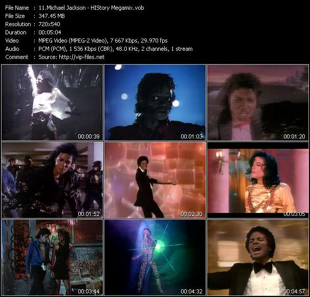 Music Video feat  Michael Jackson - I Want You Back '98