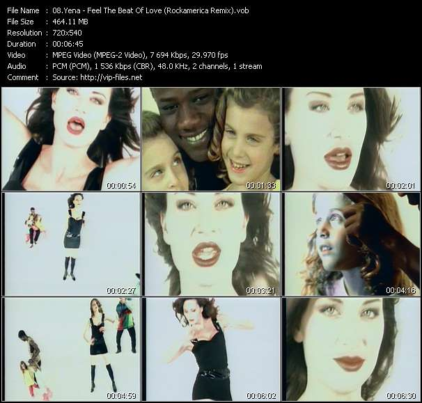 Screenshot of Video Song: «Feel The Beat Of Love» of Yena