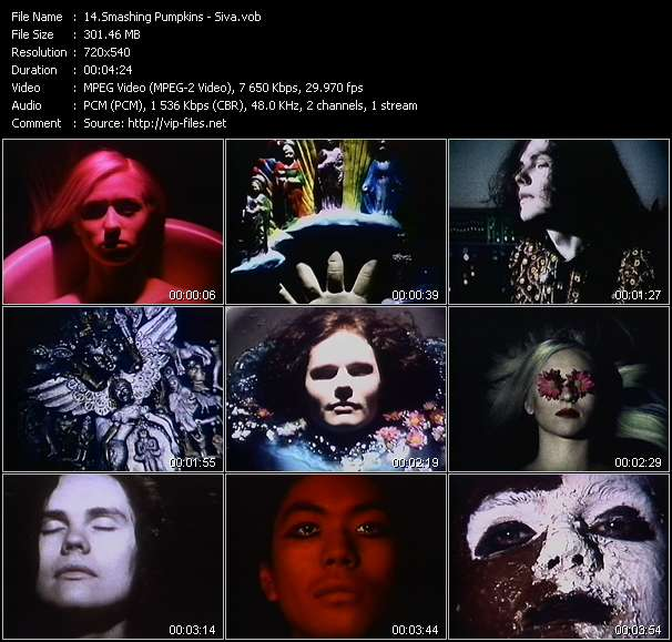 Music Video of Smashing Pumpkins - Thirty-Three - Download HQ