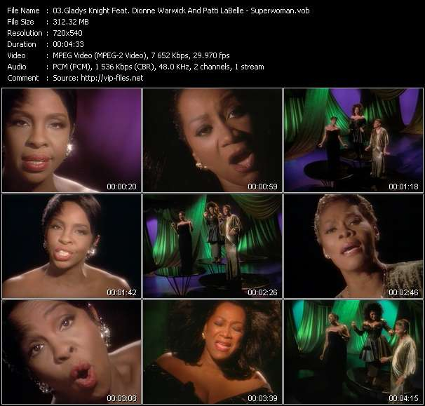 Music Video Feat Dionne Warwick That S What Friends Are For Download Hq Videoclip Vob