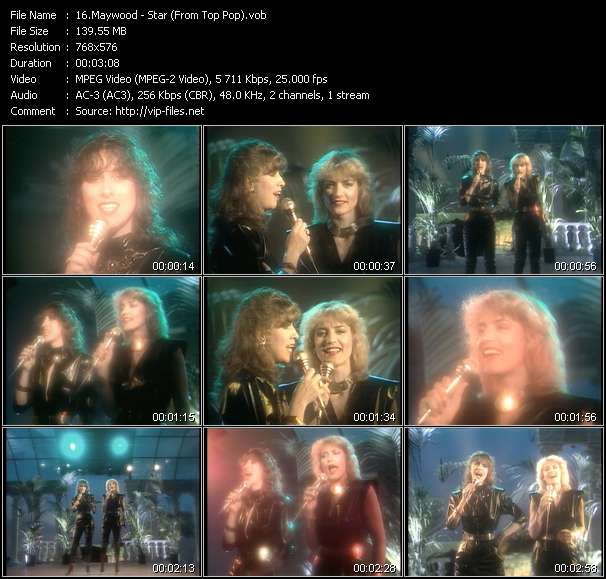 Screenshot of Video Song: «Star» of Maywood