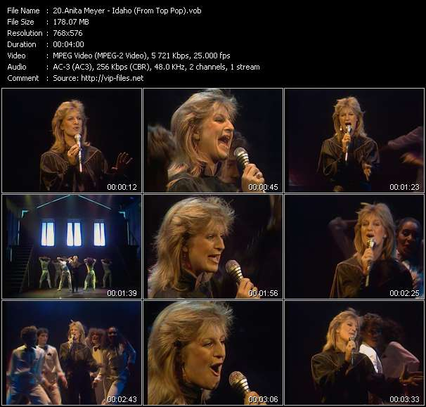 Screenshot of Music Video of Anita Meyer - Video Song: «Idaho»