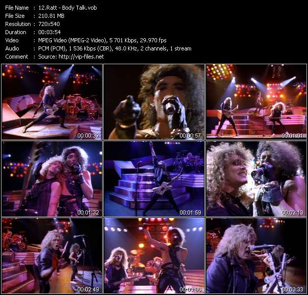 Archive of 16 04 2019  HQ Music Videos from Album «Ratt