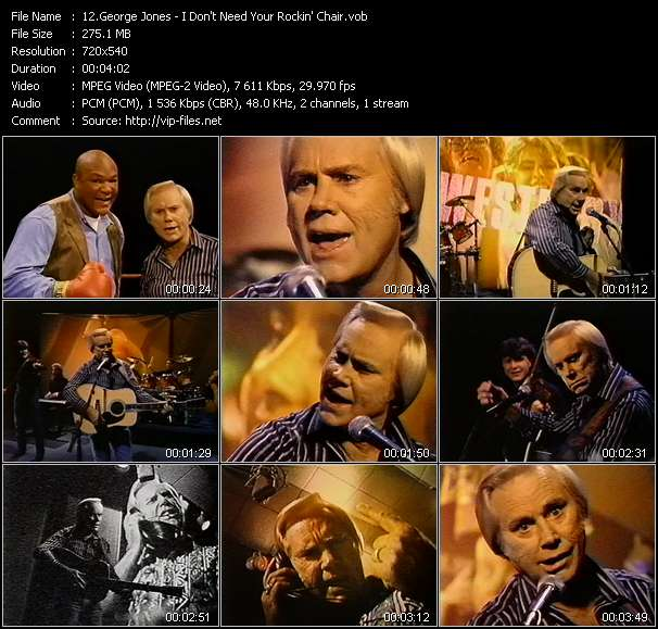 Amazing Music Video Of George Jones High Tech Redneck Download Pdpeps Interior Chair Design Pdpepsorg