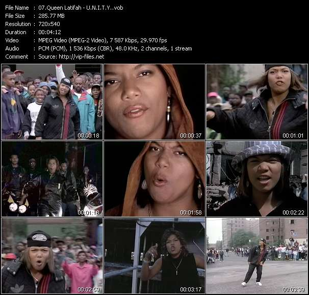 Music Video of Queen Latifah - Just Another Day - Download HQ