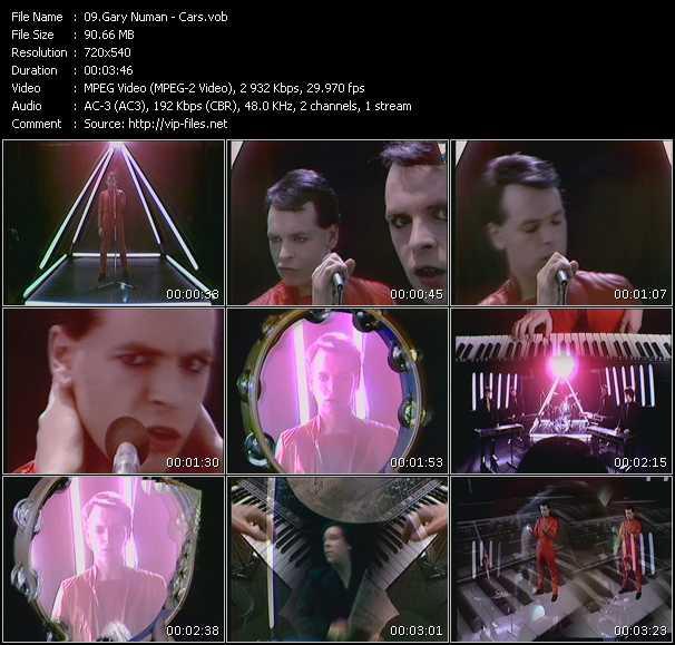 Music Video Of Gary Numan Cars Premier Mix Download Hq