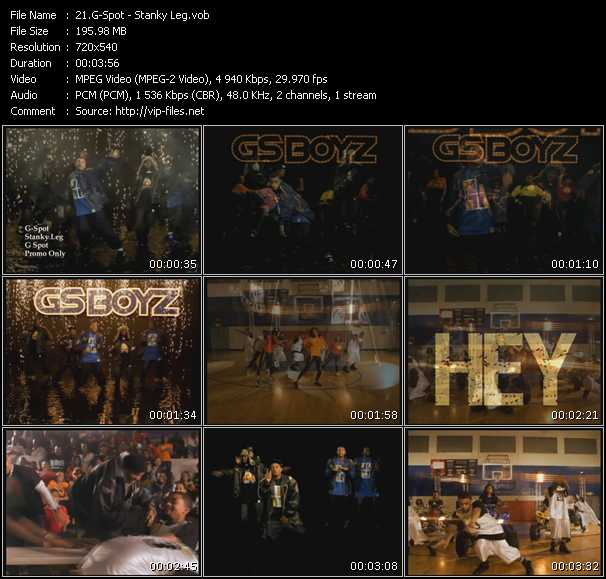 Video Song - Stanky Legg - download in High Quality