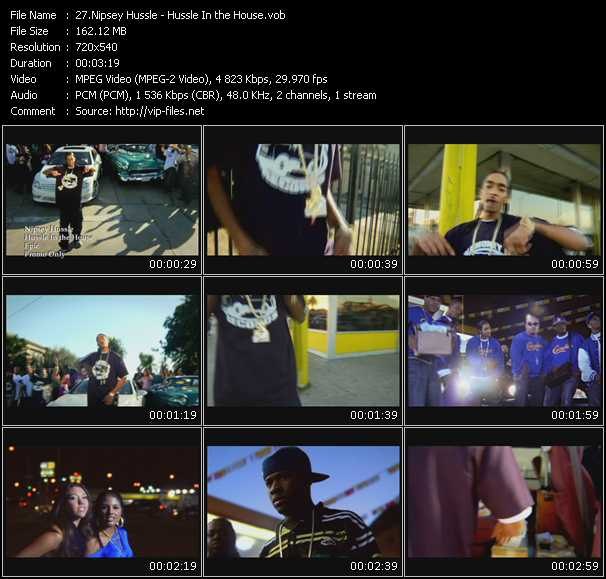 Music Video feat  Nipsey Hussle - So Sophisticated - Lemme