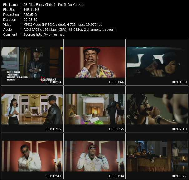 Music Video Feat Plies I M So Hood Download Hq Videoclip Vob