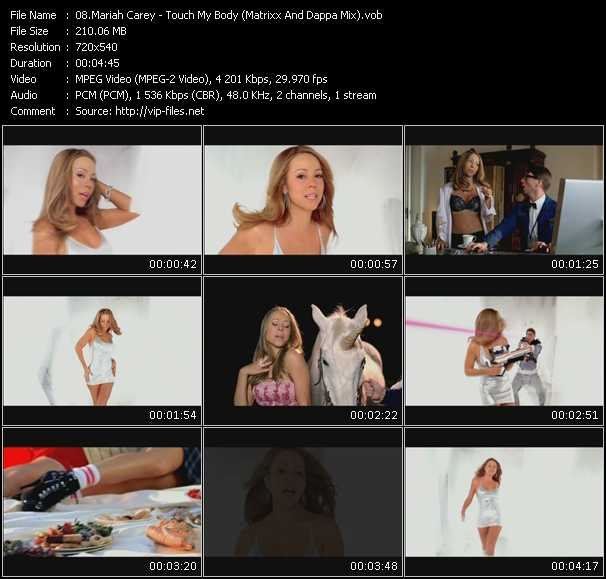 Music Video Touch My Body Matrixx And Dappa Mix Song Touch My Body Video Genre Pop Released On Dvd 2008 Album Screenplay Vj Pro Dance Vision July