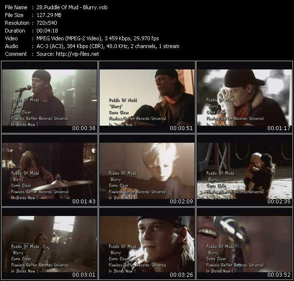 ETV Network Club 1630 April 2002 - Puddle Of Mudd Video - A