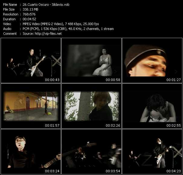 Cuarto Oscuro Music Videos and Video Clips feat. Cuarto Oscuro(total ...
