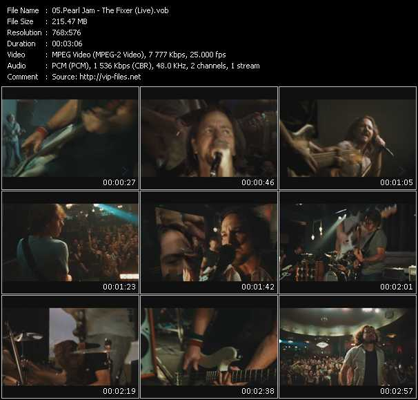 Music Video of Pearl Jam - Jeremy - Download HQ Videoclip(VOB)