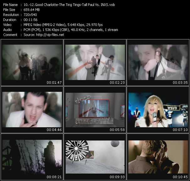 Dance Mix Video June 2009 - Good Charlotte - The Ting Tings
