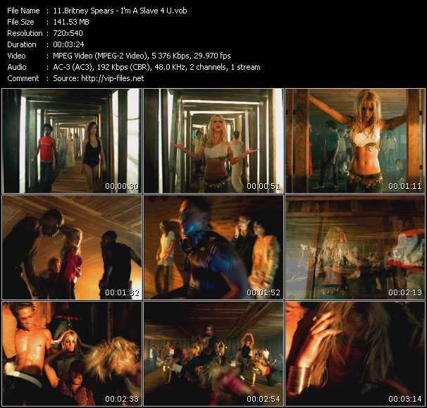 Music Video Of Britney Spears Stronger Mac Quayle Club Edit Download Hq Videoclip Vob