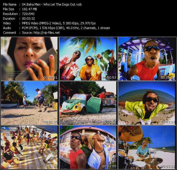 Who Let The Dogs Out Video Song By Baha Men Performing Download In Hq