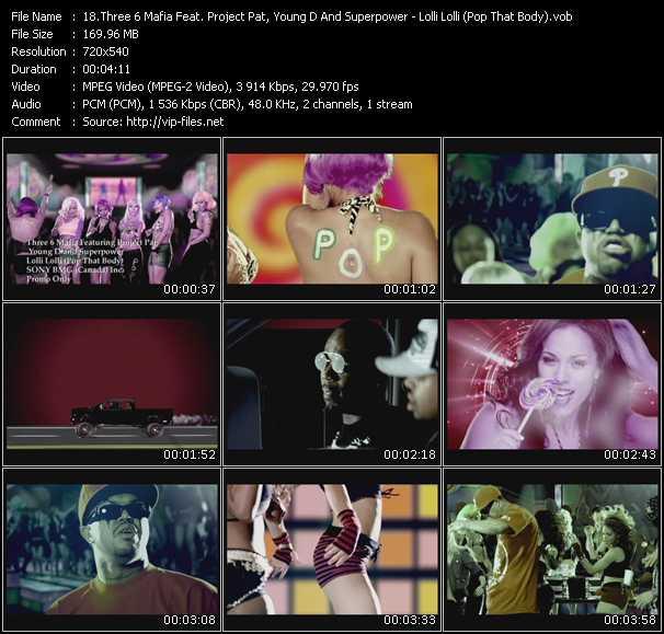 Music Video feat  Young D - Dangerous - Lolli Lolli (Pop That Body