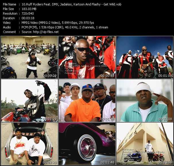 Ruff Ryders Music Videos and Video Clips feat  Ruff Ryders