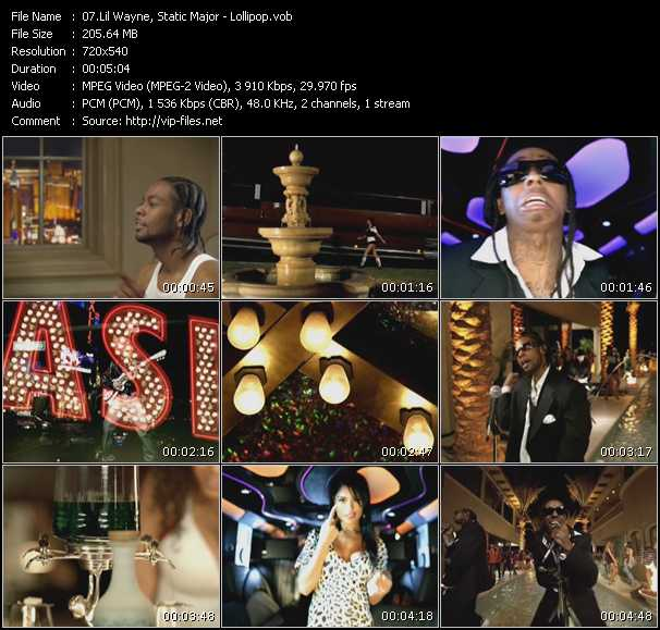 Lollipop Video Song By Lil Wayne Static Major Performing Download In Hq