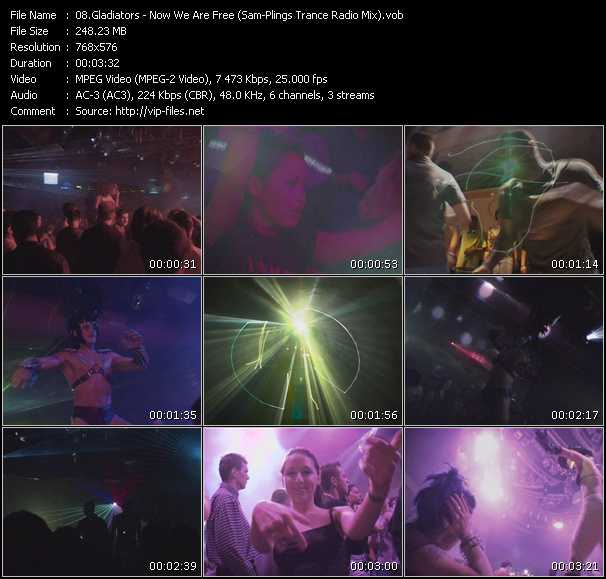 Sunnyside Up Classic Trance Clips - Collection of HQ-VOB