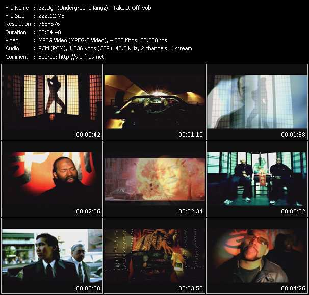 UGK Music Videos and Video Clips feat  UGK(total: 11
