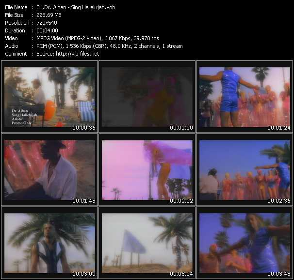 dr alban music videos and video clips feat dr alban. Black Bedroom Furniture Sets. Home Design Ideas