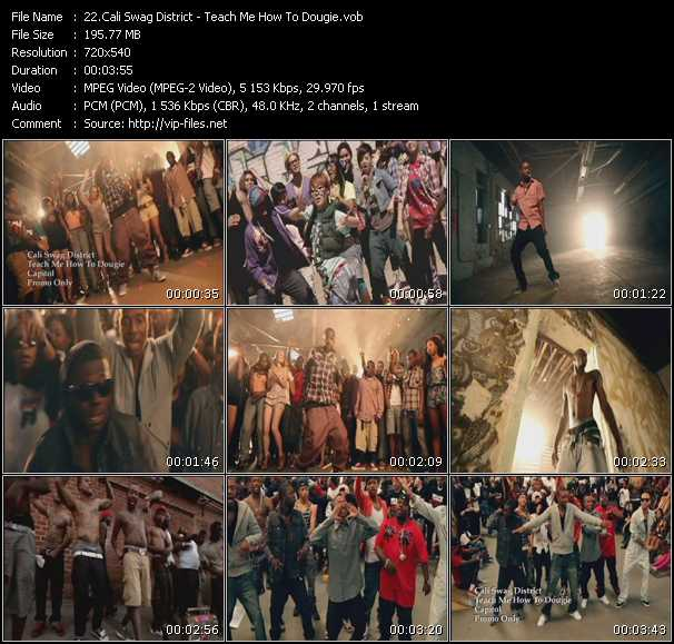 Video Song Teach Me How To Dougie Download In High Quality